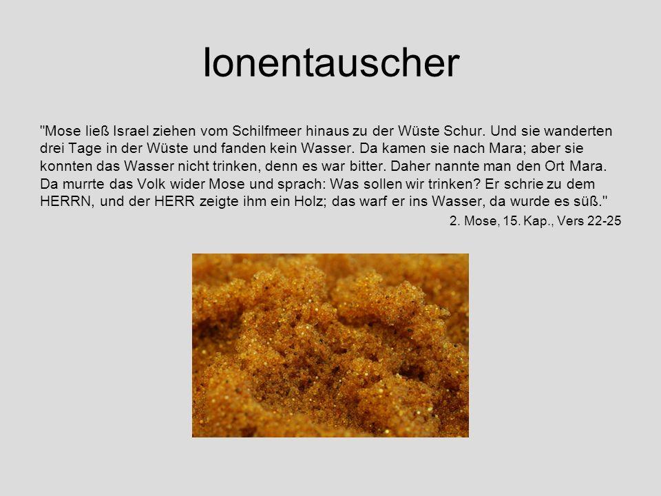 Ionentauscher