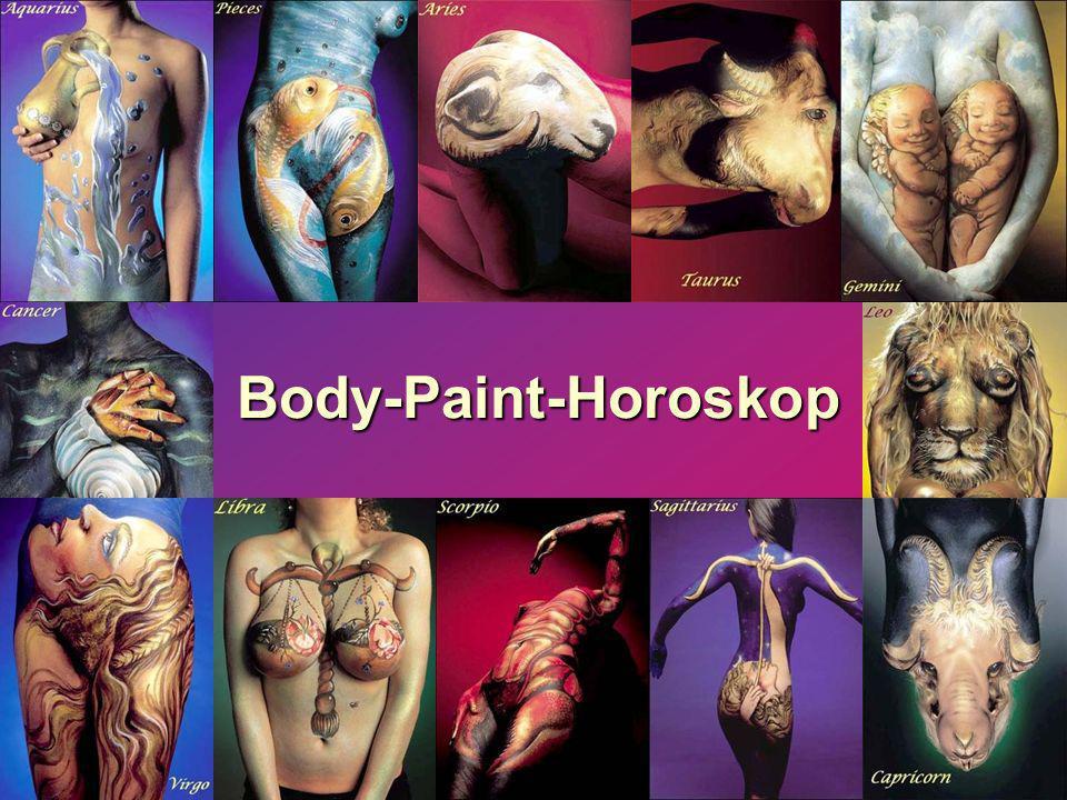 Body-Paint-Horoskop