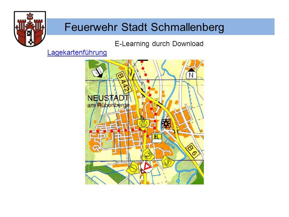 Feuerwehr Stadt Schmallenberg E-Learning durch Download Funkkonzept für die Feuerwehr Schmallenberg Taktische Zeichen für die Stabsarbeit