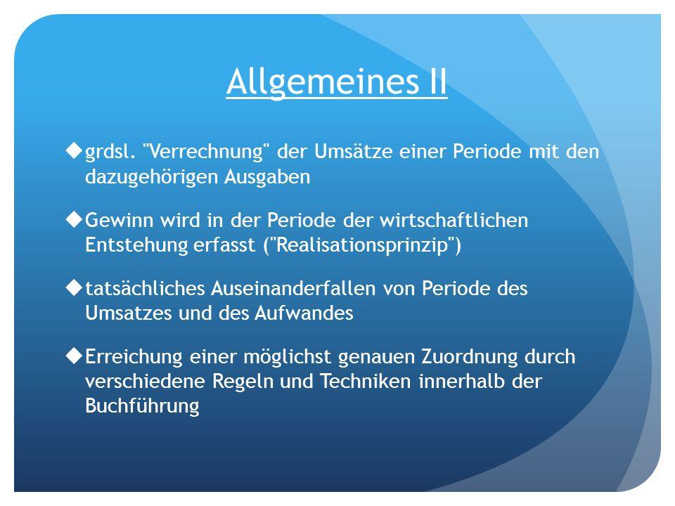 Allgemeines II grdsl.