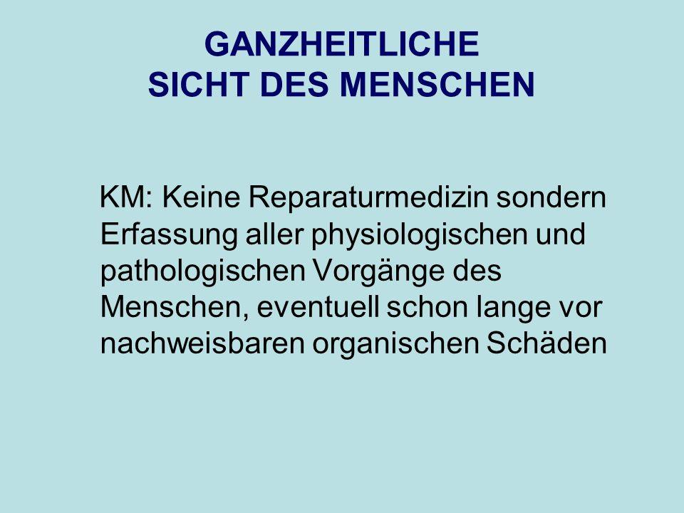 § 1: Des Arztes höchster und e i n z i g e r Beruf ist, kranke Menschen gesund zu machen, was man Heilen nennt.