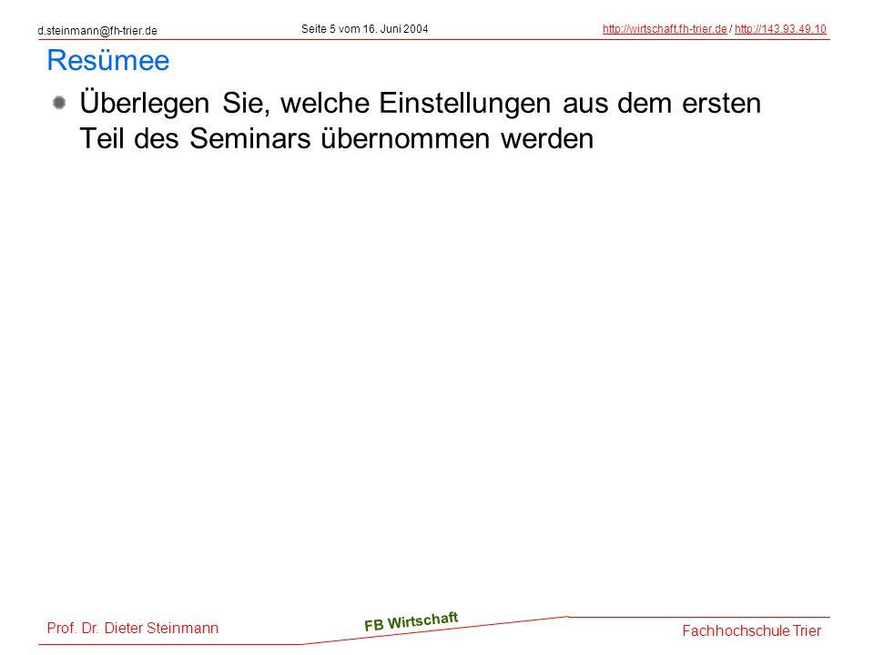 d.steinmann@fh-trier.de Seite 6 vom 16.
