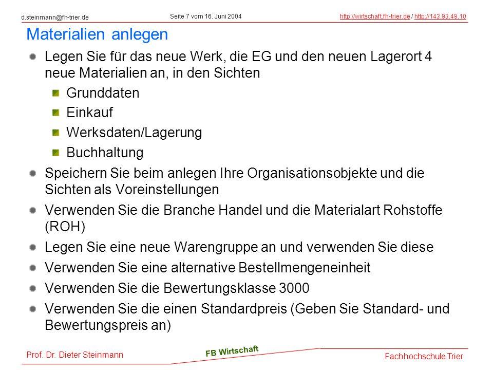 d.steinmann@fh-trier.de Seite 8 vom 16.