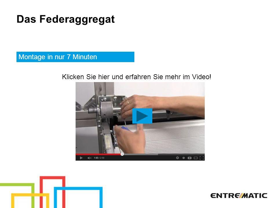 Das Federaggregat Montage in nur 7 Minuten Klicken Sie hier und erfahren Sie mehr im Video!