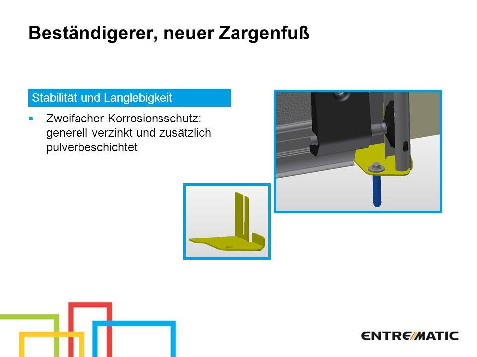Neue kugelgelagerte Tandemlaufwerke Für noch mehr Sicherheit und Montagefreundlichkeit Neue Verschraubung mit M8 Keine zusätzliche Sicherungsplatte mehr erforderlich (bereits integriert)