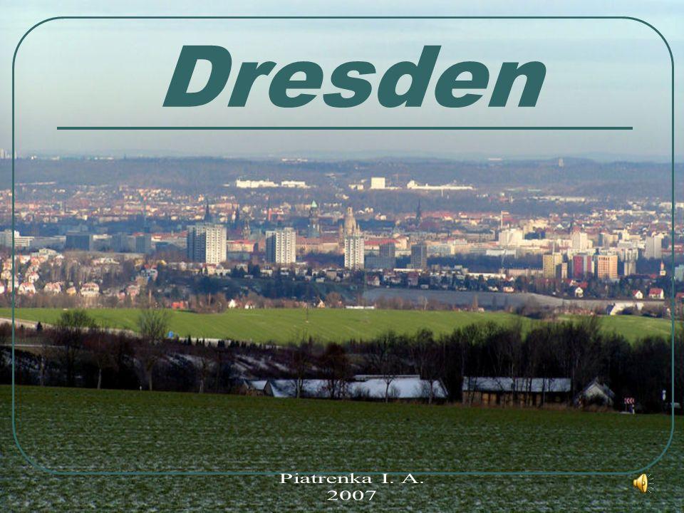 Dresden ist das politische und kulturelle Zentrum des Landes Sachsen. Wappen