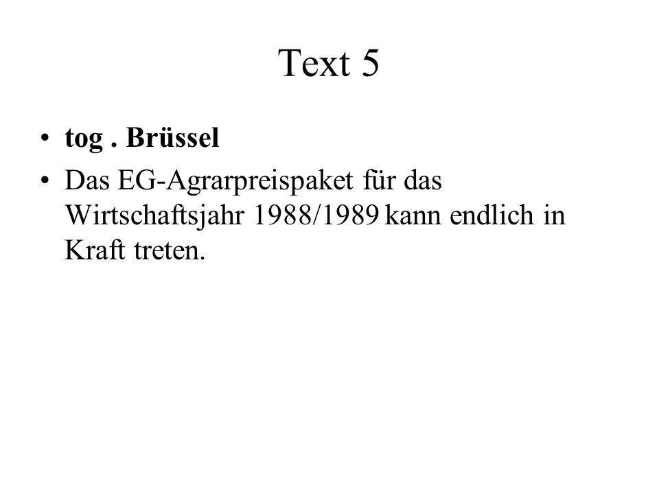 Text 5 tog.