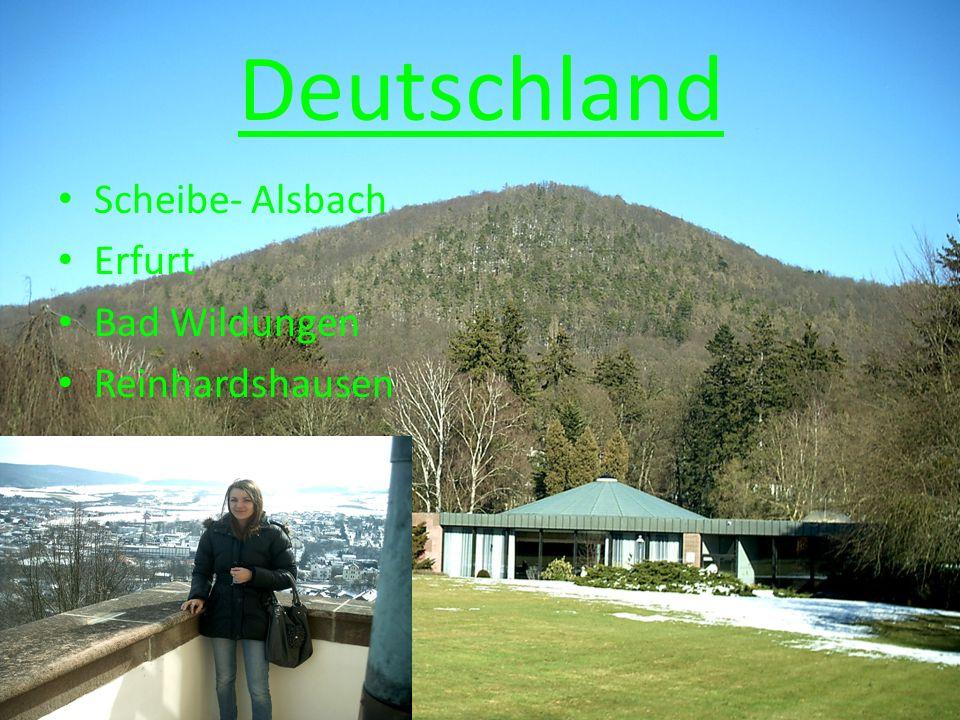 Deutschland Scheibe- Alsbach Erfurt Bad Wildungen Reinhardshausen
