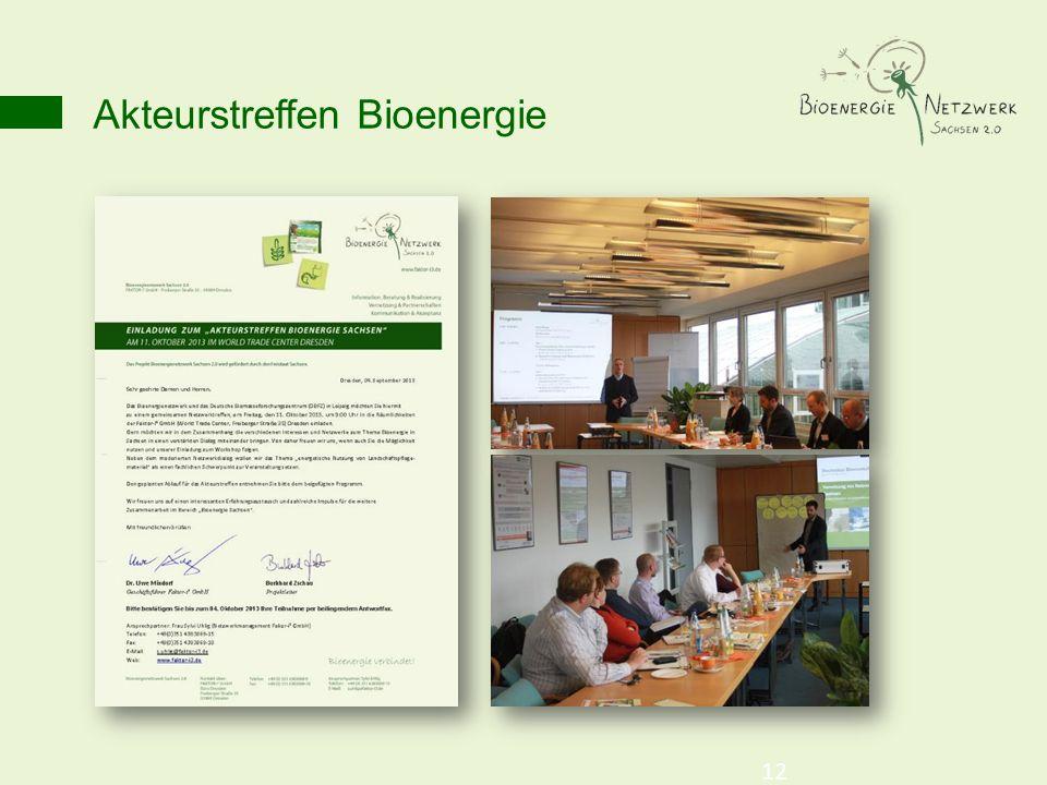 Akteurstreffen Bioenergie 12