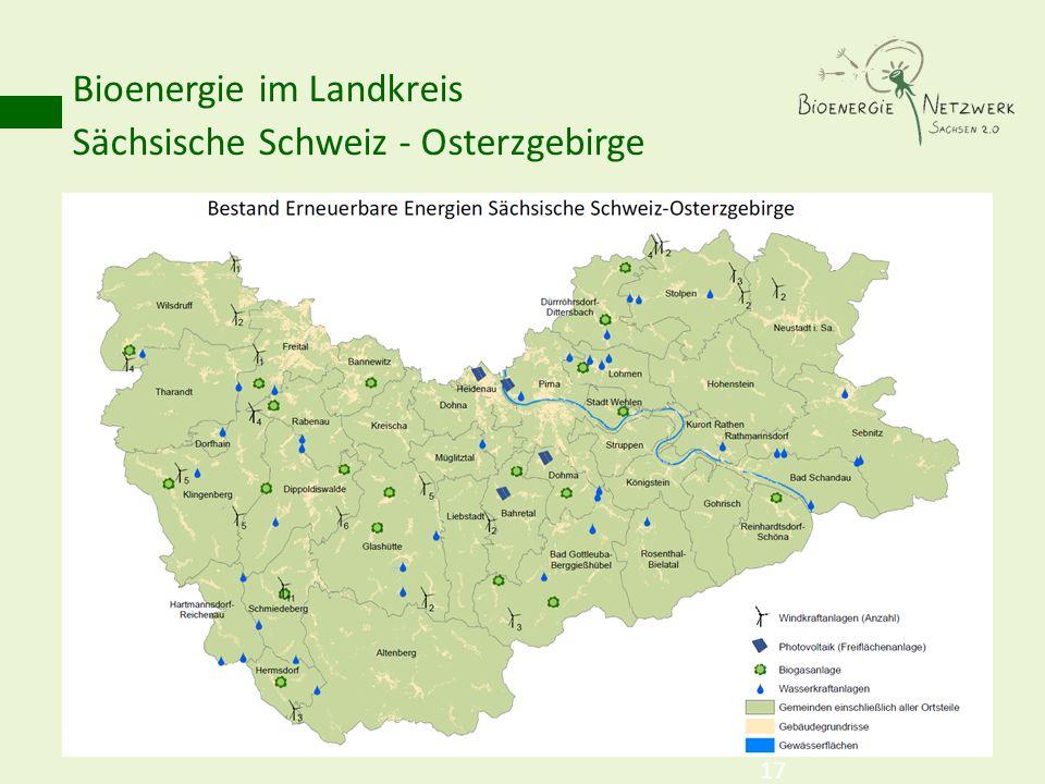 Bioenergie im Landkreis Sächsische Schweiz - Osterzgebirge 17