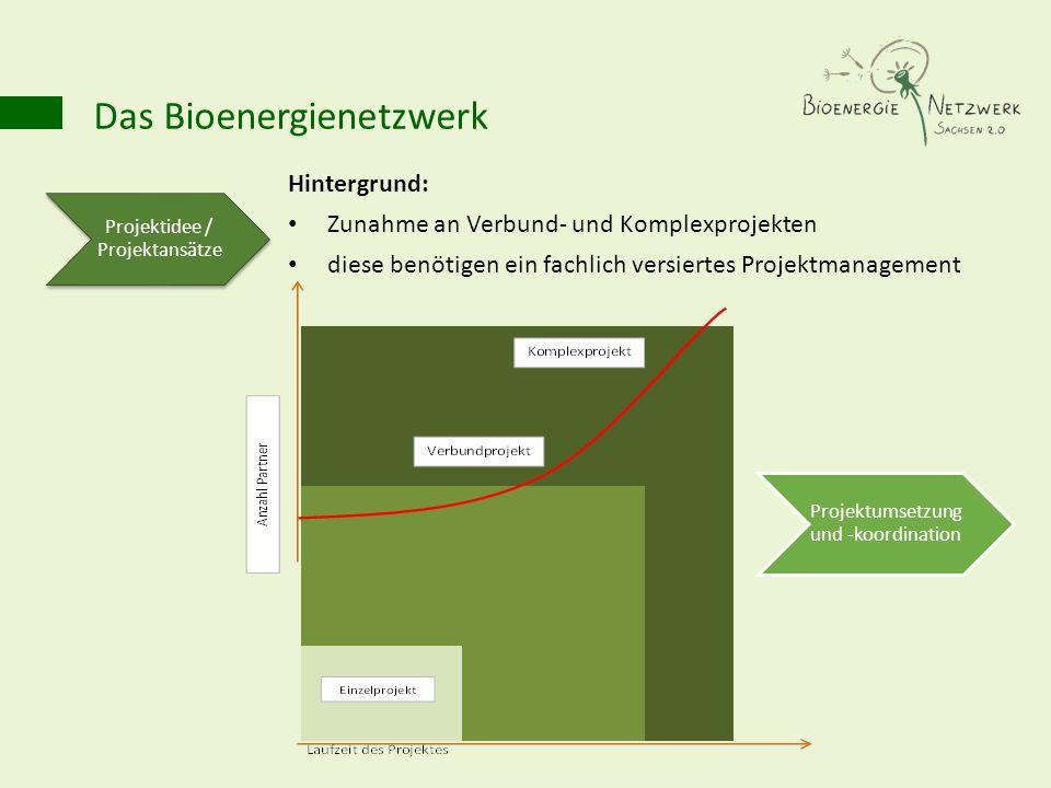 Hintergrund: Zunahme an Verbund- und Komplexprojekten diese benötigen ein fachlich versiertes Projektmanagement Projektidee / Projektansätze Projektum