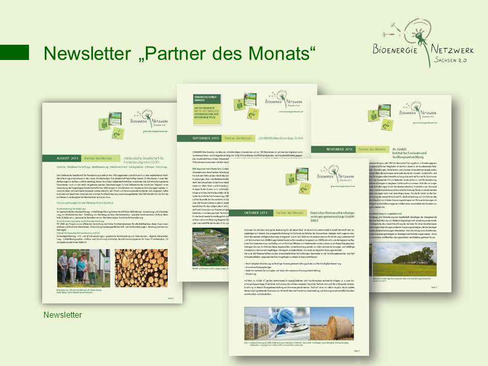 Newsletter Partner des Monats 9 Newsletter