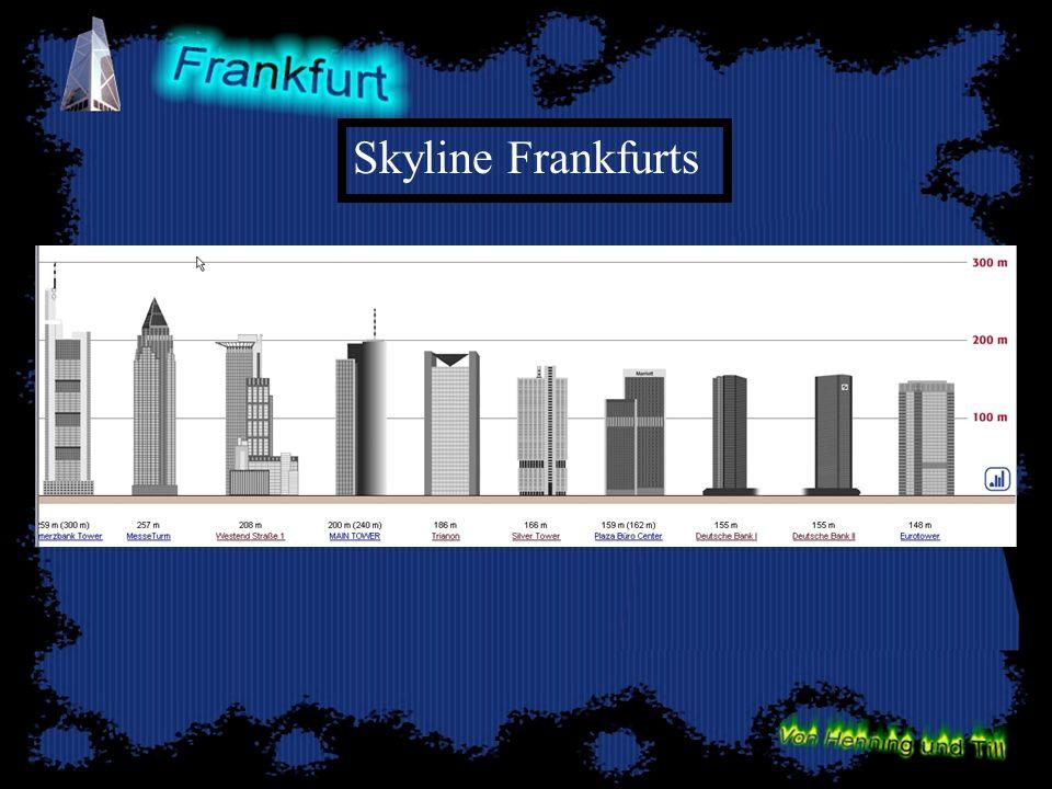 Skyline Frankfurts