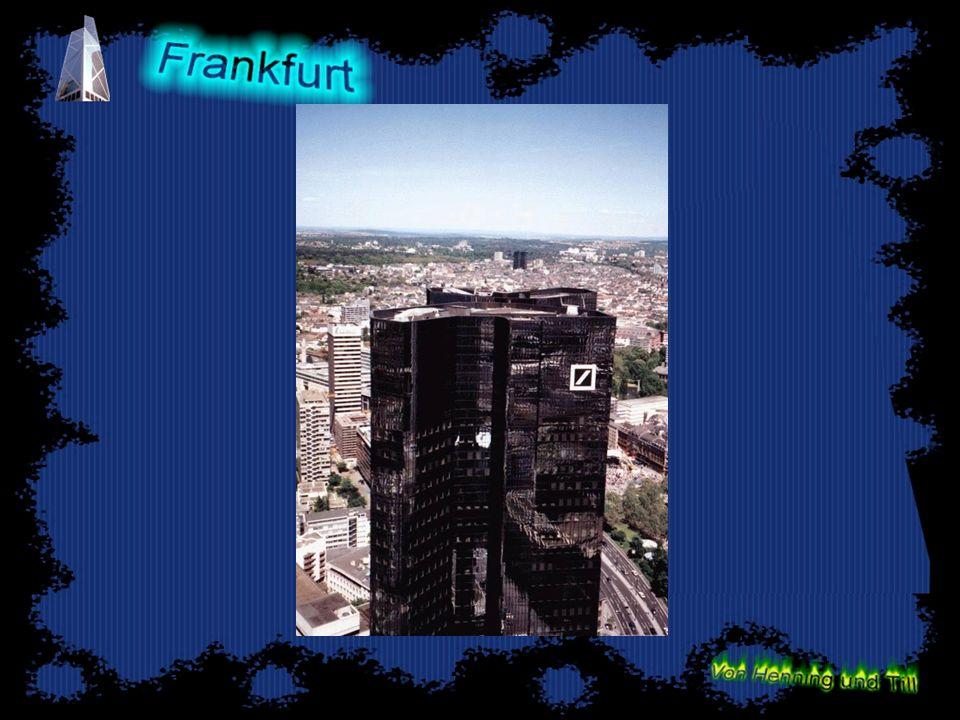 Frankfurts Touristen Attraktionen Zeil -Umsatzstärkste Einkaufsmeile Europas