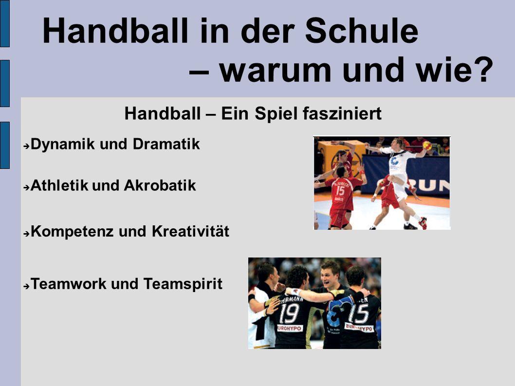 Handball in der Schule – warum und wie.