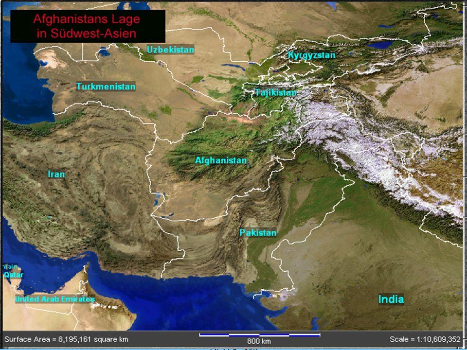 4 Eine Chronik der afghanischen Geschichte - Afghanistan wurde im 6.