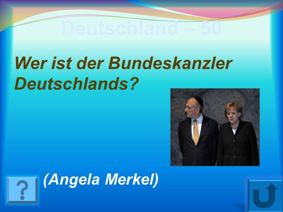 Deutschland – 40 Wann feiert man in Deutschland den Tag der Vereinigung ? (am 3. Oktober)