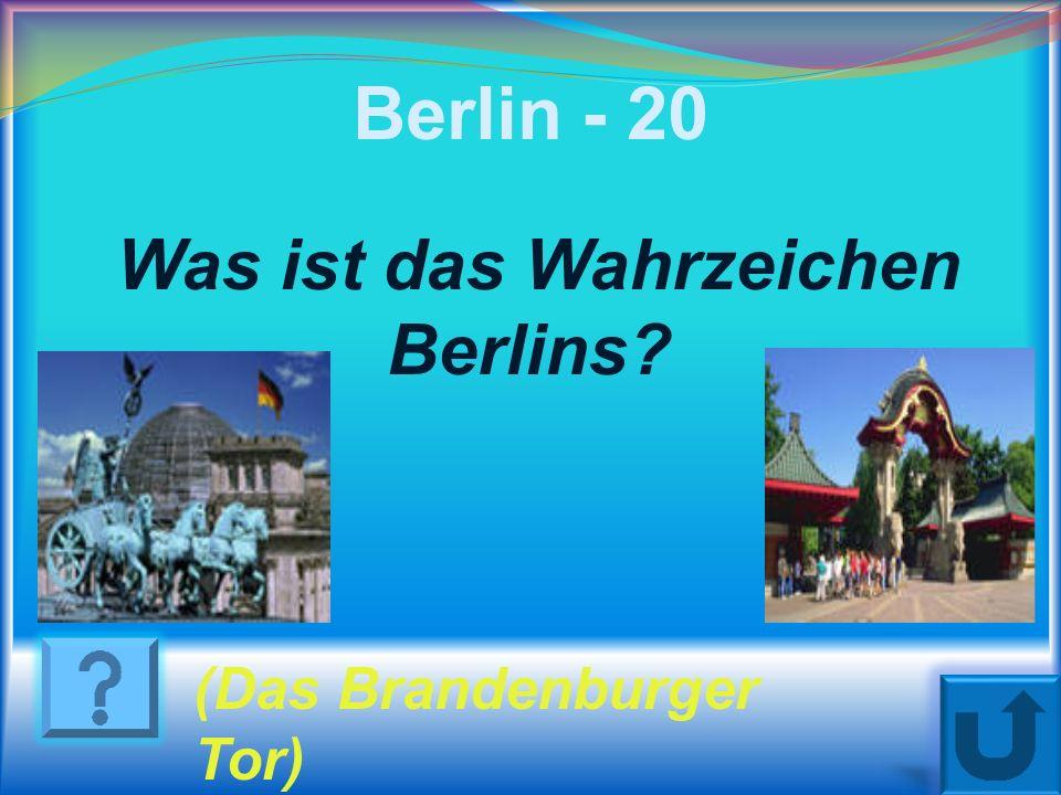 Berlin - 10 Wo liegt Berlin? An der Spree