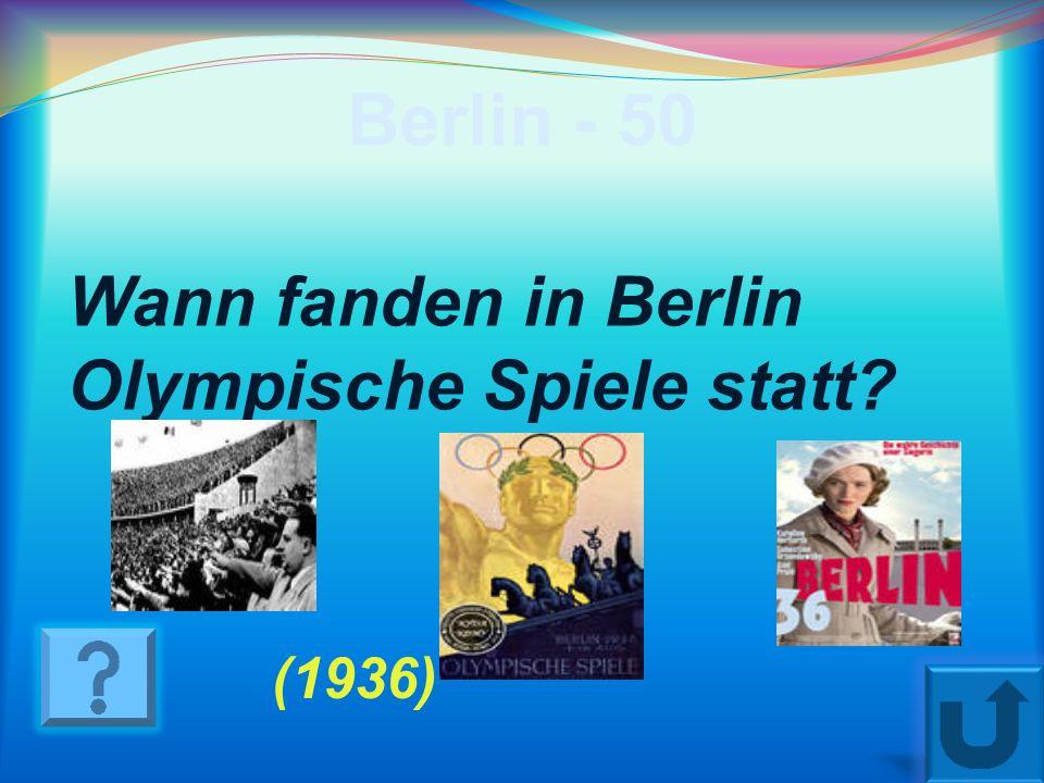 Berlin - 40 Wann wurde Berlin gegrűndet? ( 1237)