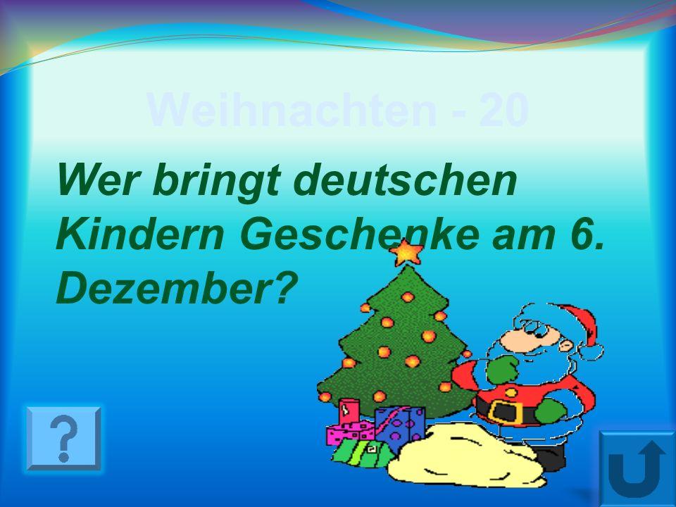 Weihnachten - 10 Wann beginnt Advent?