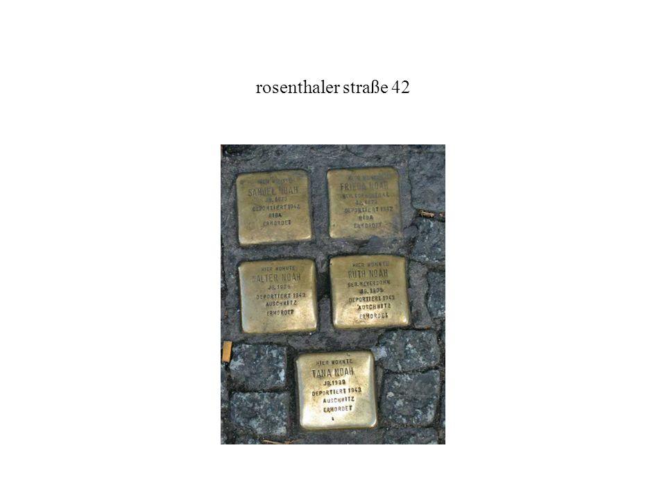 rosenthaler straße 42