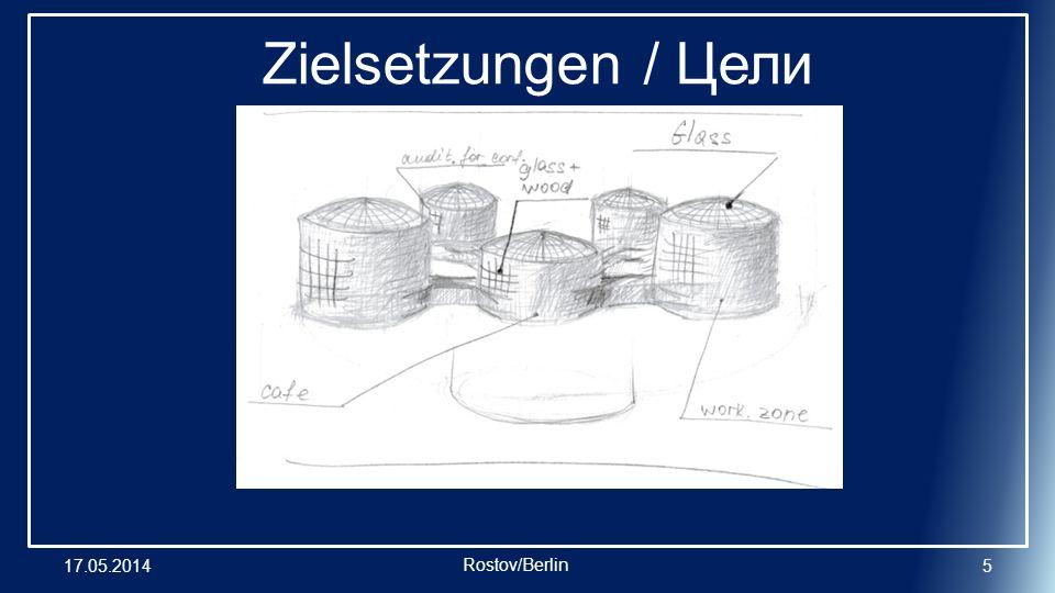 17.05.20146 Zielsetzungen / Цели Rostov/Berlin