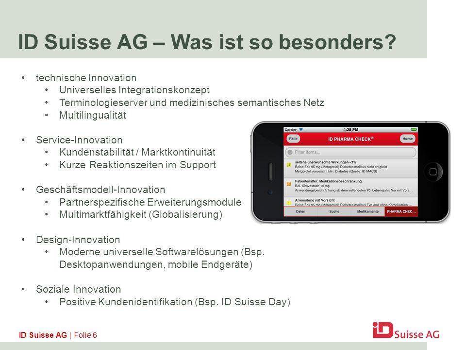 ID Suisse AG – Was ist so besonders.