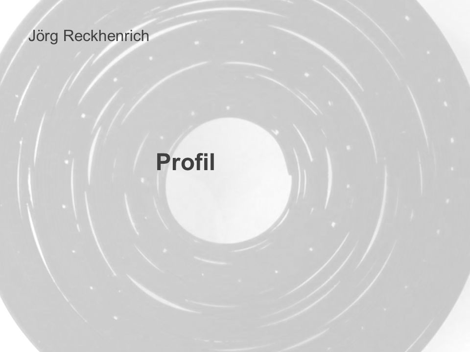 Profil Jörg Reckhenrich