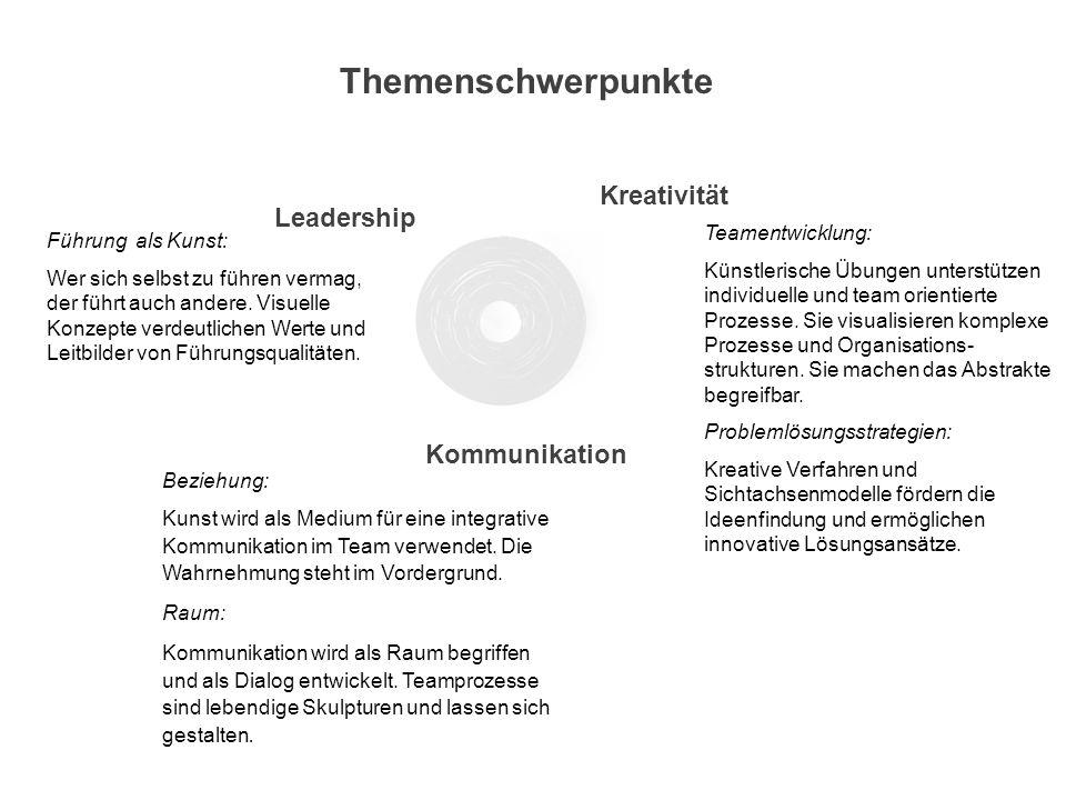 Der von Jörg Reckhenrich praktisch und theoretisch entwickelte Ansatz überträgt kreative Prinzipien der Kunst auf Managementaufgaben in Unternehmen.