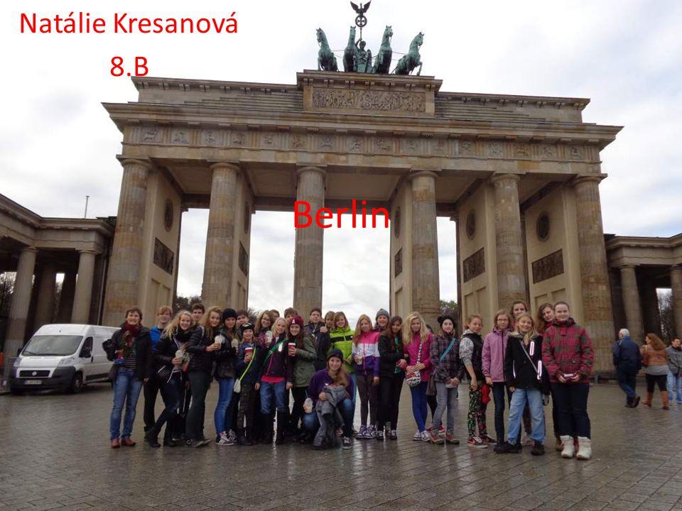 Etwas über Berlin Berlin ist die Hauptstadt von Deutschland.