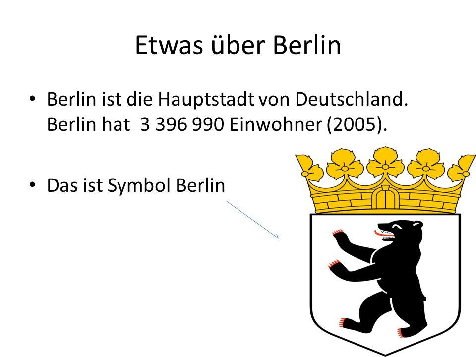 In Berlin ist..