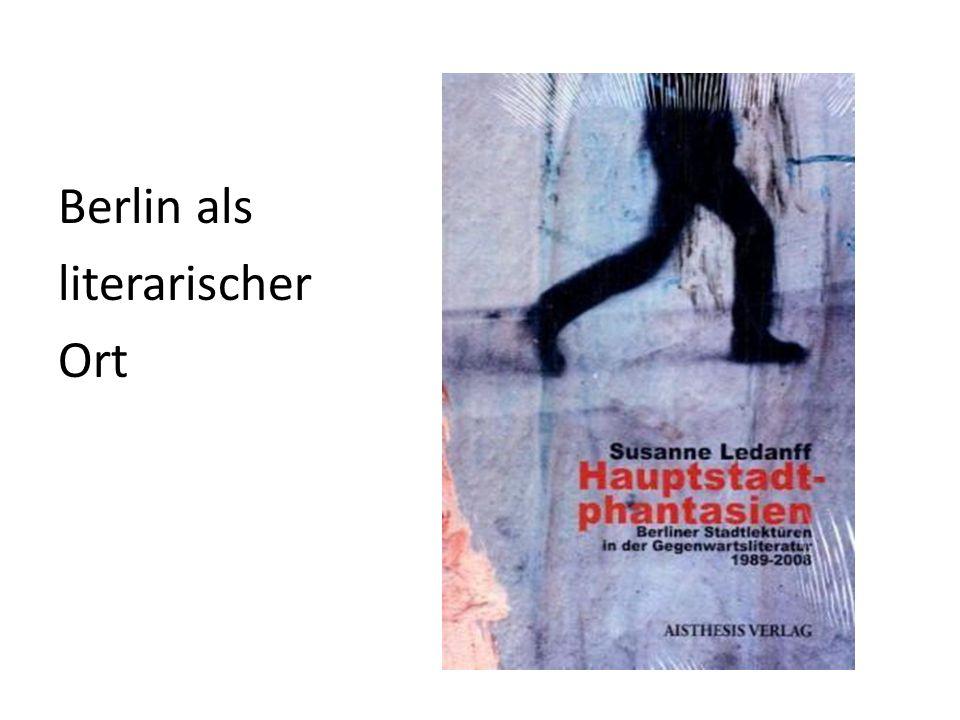 Berlin als literarischer Ort
