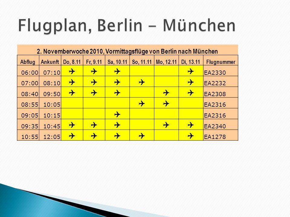 Hin- und RückflügeRomParisBarcelonaAthen First Class440-380- Business Class340 280360 Economy Class220248180260