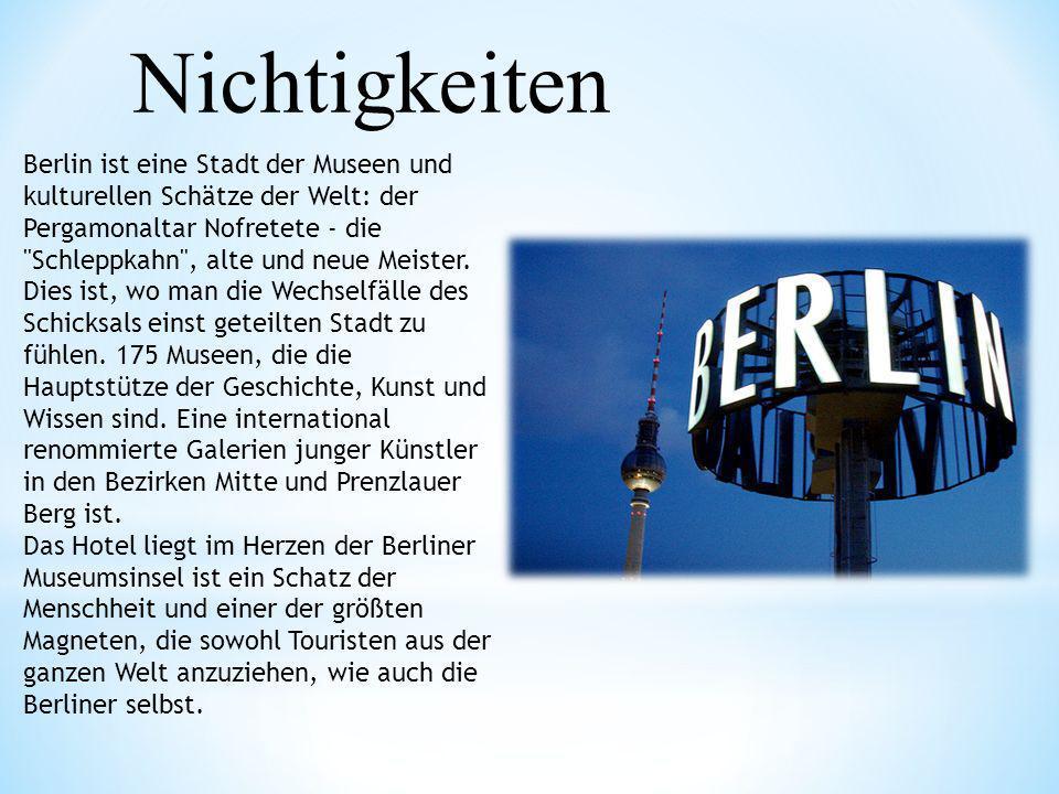 Berlin ist eine Stadt der Museen und kulturellen Schätze der Welt: der Pergamonaltar Nofretete - die
