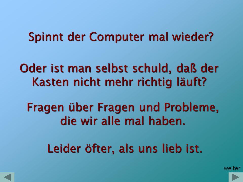 Sie haben das PC-Problem Sie haben das PC-Problem Ich habe die Lösung Ich habe die Lösung Kostengünstig und individuell.
