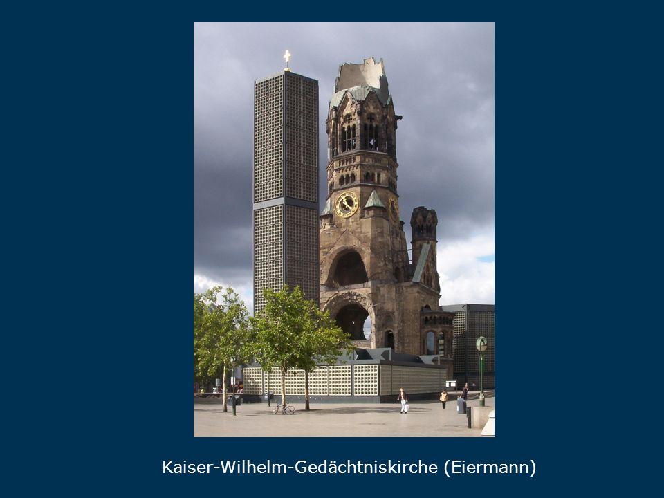 Kaiser-Wilhelm-Gedächtniskirche (Eiermann) Gedächtniskirche
