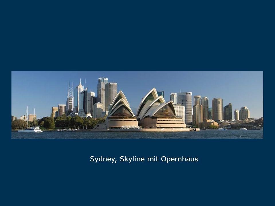 Sydney, Skyline mit Opernhaus Sydney