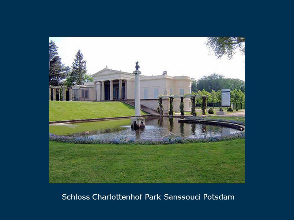 Schloss Charlottenhof Park Sanssouci Potsdam Charlottenhof