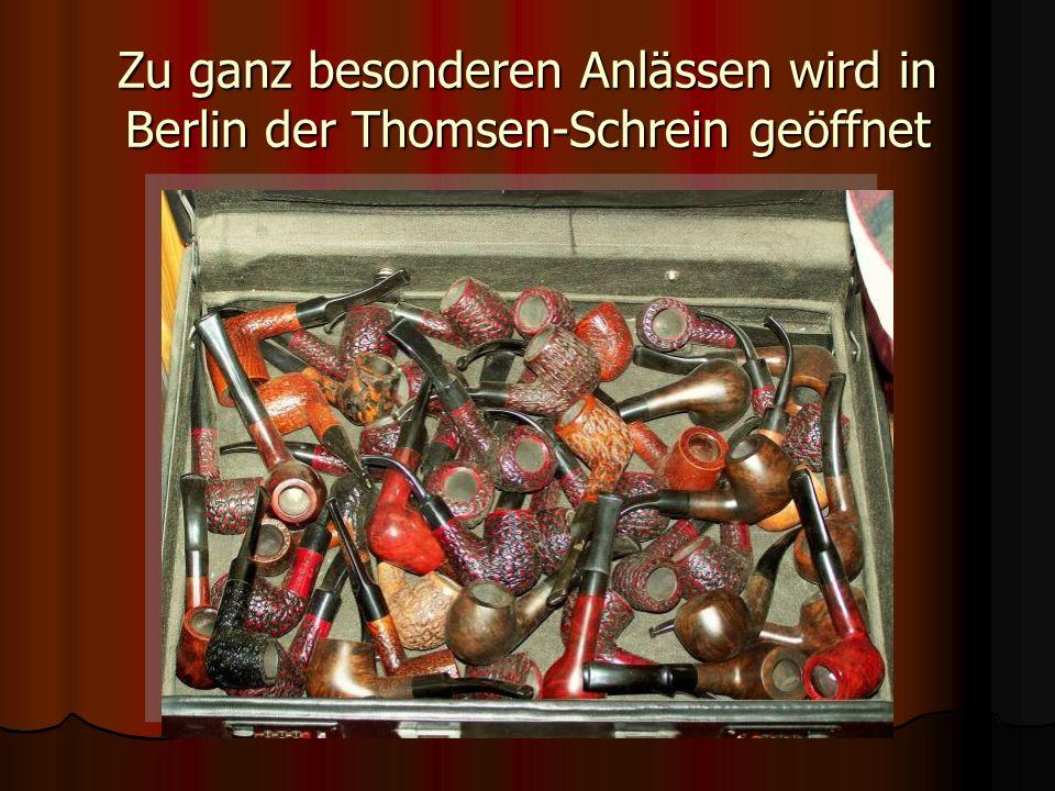 Zu ganz besonderen Anlässen wird in Berlin der Thomsen-Schrein geöffnet