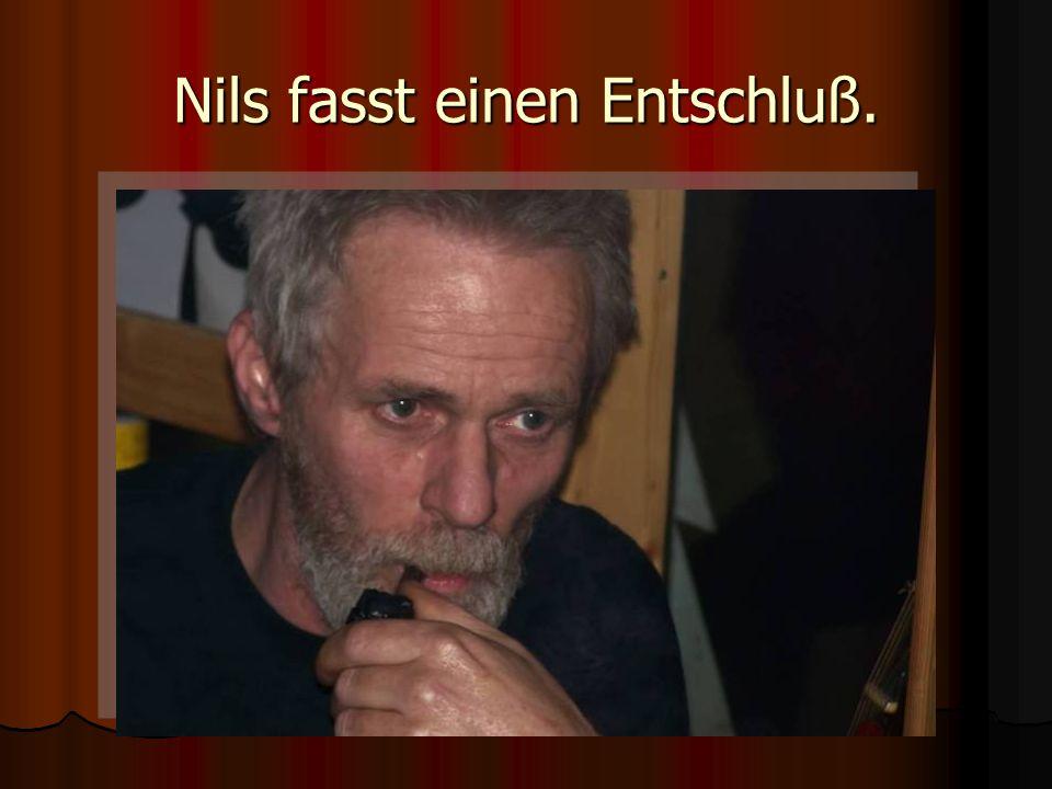 Nils fasst einen Entschluß.