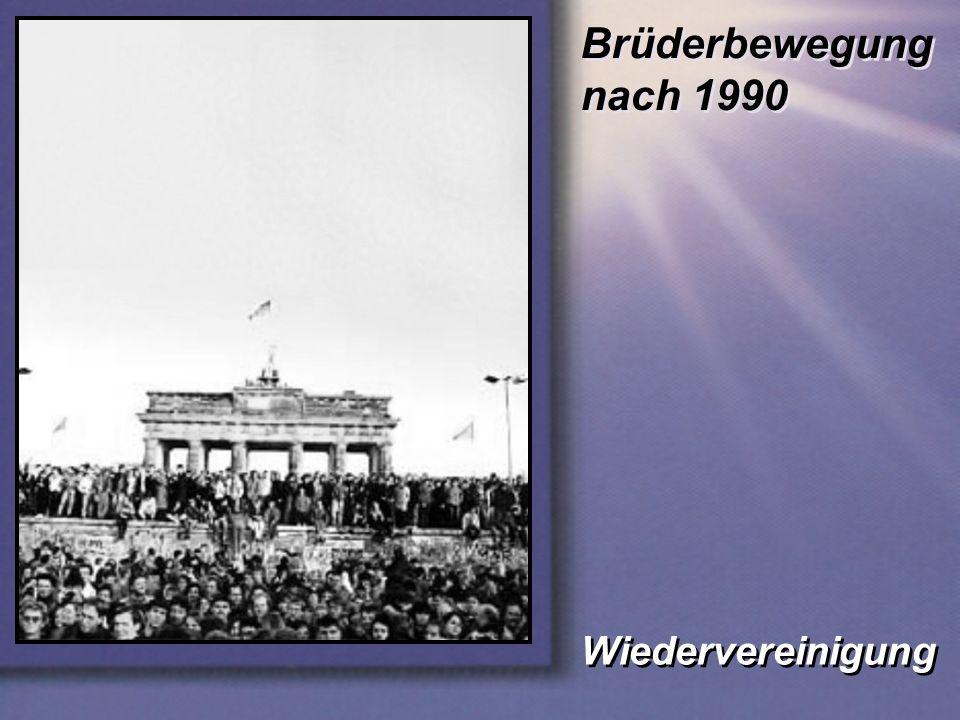 Brüderbewegung nach 1990 Wiedervereinigung