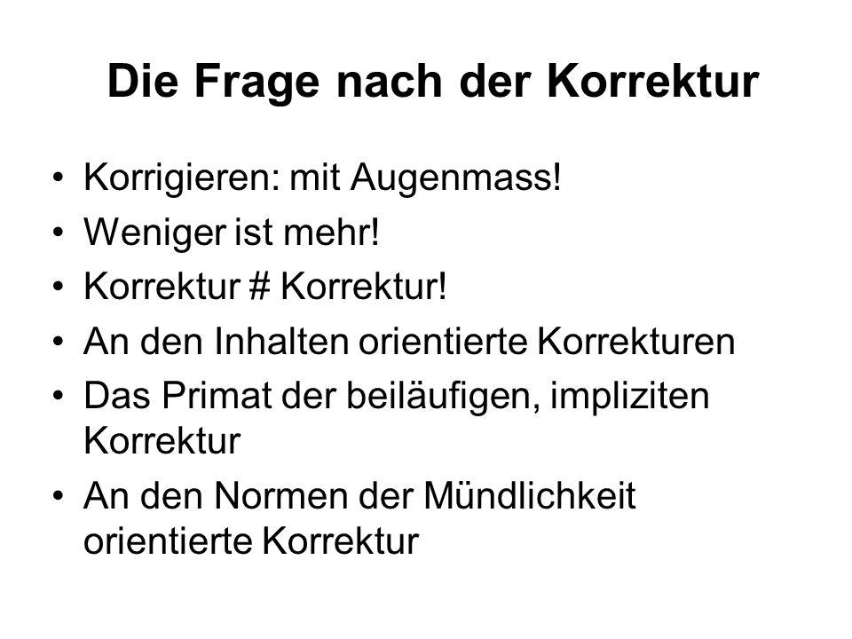 (5) Befunde zu Hochdeutsch in Kindergarten und 1.Klasse Übersicht (vgl.