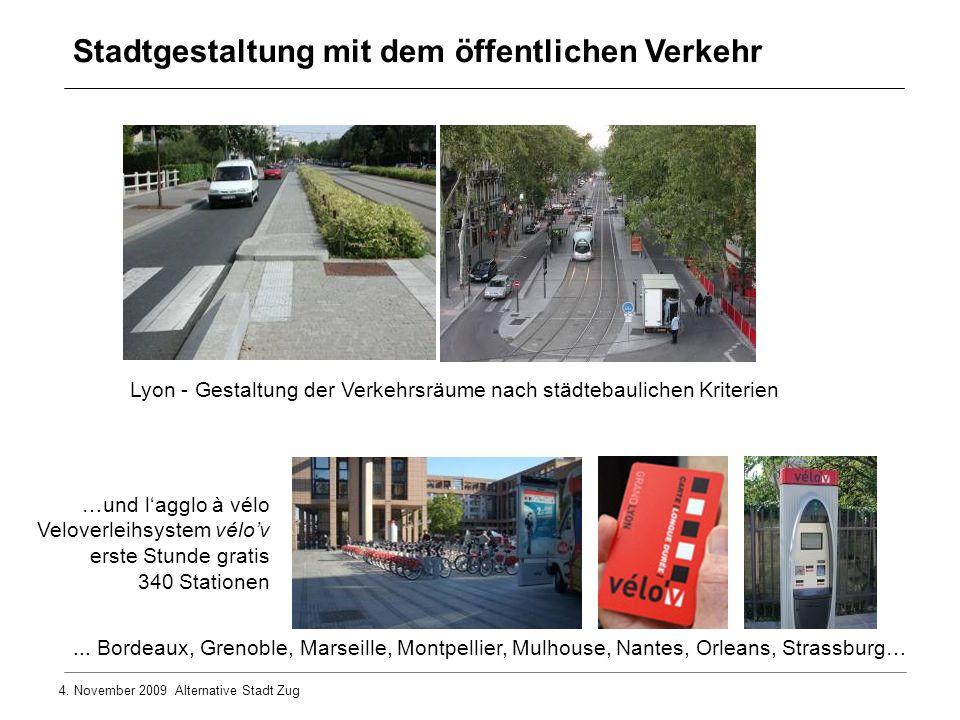 4.November 2009 Alternative Stadt Zug...