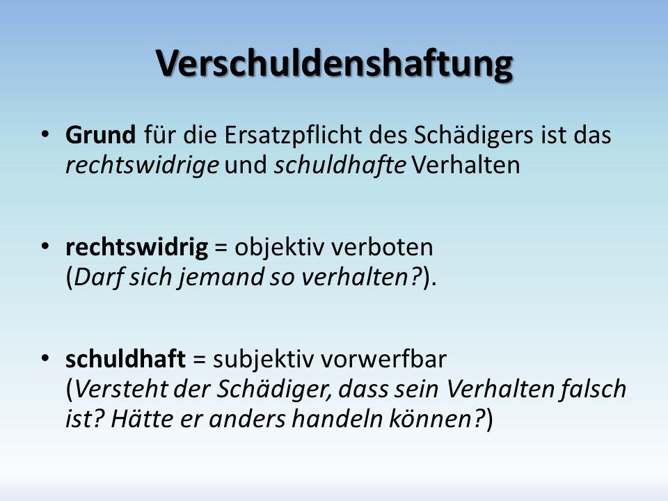 I. Gehilfenhaftung Grundsatz Unterscheidung zwischen – Vertragshaftung – Deliktshaftung