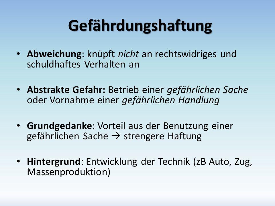 Amtshaftung Rechtsgrundlage: AHG Hoheitsverwaltung: In Vollziehung der Gesetze Rechtsträger (zB Land Wien) haftet dem Geschädigten auf Schadenersatz in Geld