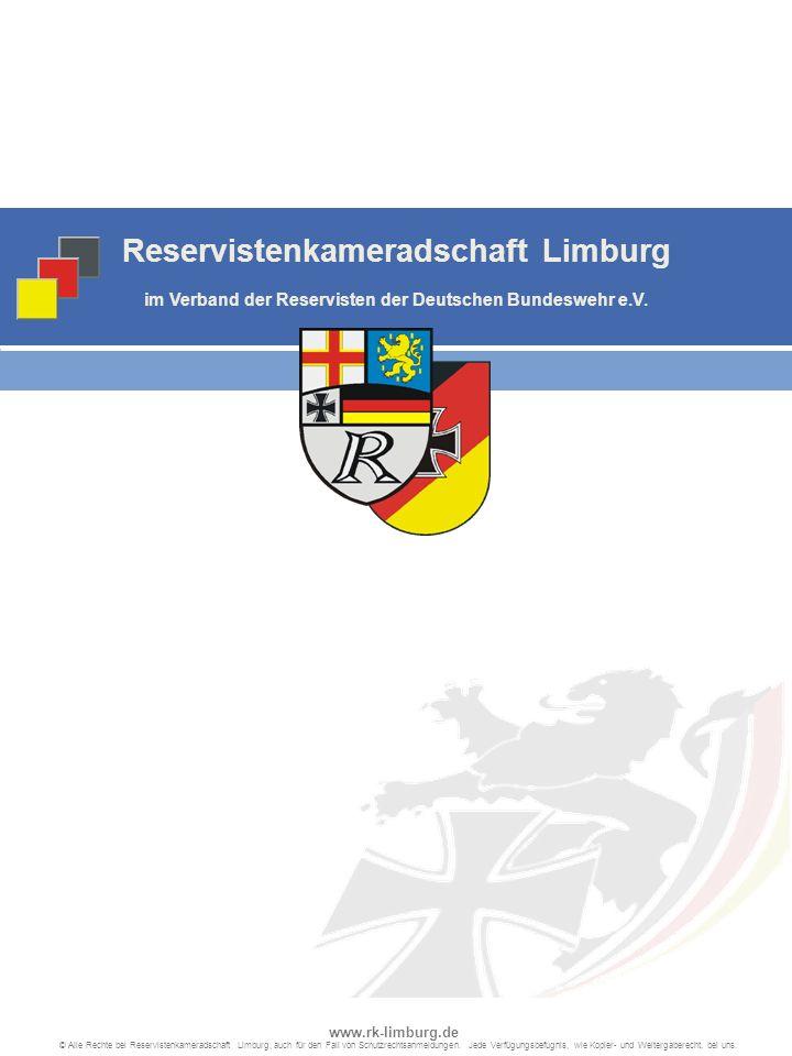 Reservistenkameradschaft Limburg im Verband der Reservisten der Deutschen Bundeswehr e.V.
