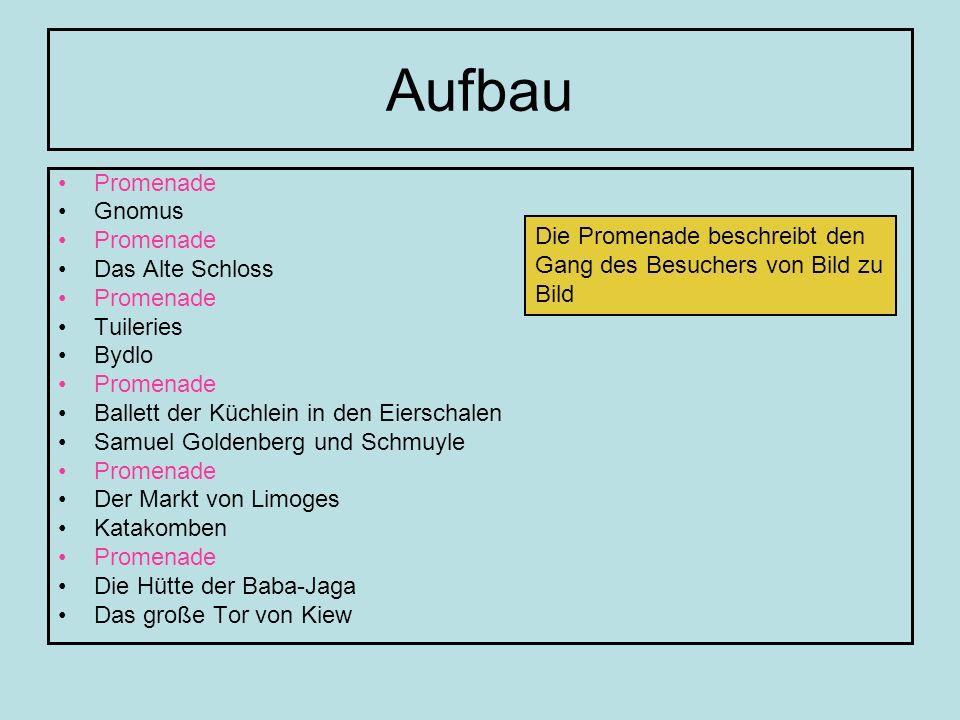 Das Ballett der Küchlein in den Eierschalen HB 1: Original-Fassung HB 2: Orchester-Fassung (Ravel) HB 3: Gitarren-Fassung (Yamashita) HB 4: Orgel-Fassung (Blarr) HB 5: Synthesizer (Tomita)