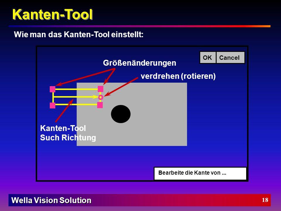 Wella Vision Solution 17 Kanten-Tool Beschreibung vom Kanten-Tool