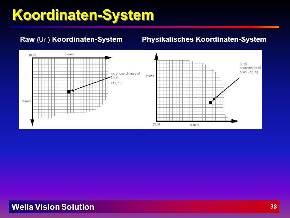 Wella Vision Solution 37 Elektrischer Aufbau des BV-Systems Bestückungsdruck der Signal-Wandelplatine im PC D-Sub15 Stecker Signale von / zum Schaltsc