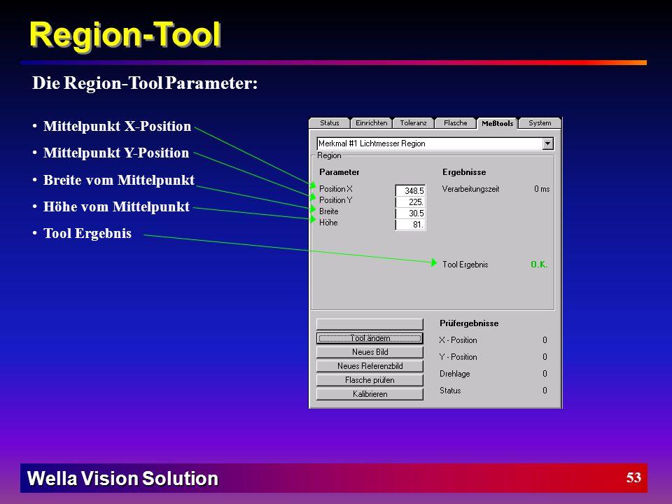 Wella Vision Solution 52 Kanten-Tool Wie funktioniert das Kanten-Tool: Schritt 3: Die Kanten werden bewertet und erhalten einen Ergebniswert: Alle Kan
